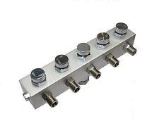 RDGTOOLS 5 MODI ARIA TUBO SPLITTER / COLLETTORE PER aria COMPRESSORI 0.3cm BSP