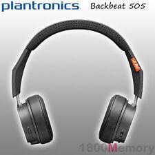 Plantronics BackBeat 505 Bluetooth Wireless Headphones Mic Memory Foam Dark Grey