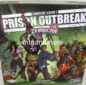 Zombicide - Prison Outbreak Brettspiel englisch