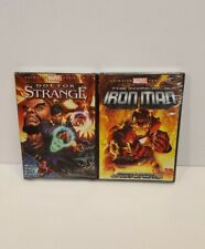 The Invincible Iron Man Doctor Strange Marvel ANIMATED 2 DVD lot NEW Sealed