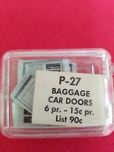 Ho Scale Red Ball Castings Parts 10  Baggage Doors