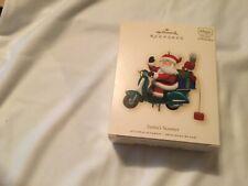 2007 Hallmark Santa's Scooter