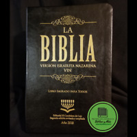 Biblia  Version Israelita Nazarena TORAH LETRA GRANDE NEGRO Edicion 2018
