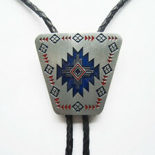 Men American Southwest Pattern Western Bolo Tie also Stock in US