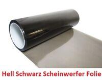 Hell Schwarz Scheinwerfer Folie Tönungsfolie 200x30 cm Rückleuchten (13 EUR/m²)
