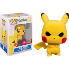 Pokemon Pikachu Grumpy Flocked NYCC 2020 US No. 598 Funko Pop Vinyl