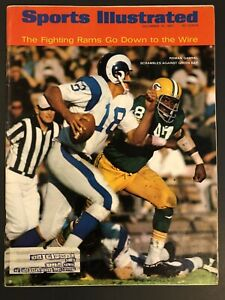 Sports Illustrated Roman Gabriel Los Angeles Rams vs Packers 12/18/1967  BX3
