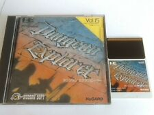 Dungeon Explorer NEC PC Engine TurboGrafx-16 PCE/Hu-Card,Manual,Boxed tested-E-