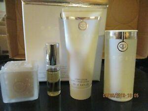 PERCEIVE Total Luxury Gift Set Eau De Pafum Spray Body Lotion Talc Candle AVON
