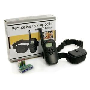 Collare per cane con controllo remoto, addestramento cane collare, display LCD
