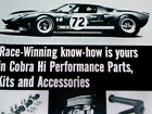 1967 FORD COBRA KIT ORIGINAL AD *GT-40*427/428/289/v8/Shelby/GT500/Mustang/decal