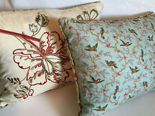 Pair of B. Smith Toss Throw Pillow Pillows Reversible Bed Bath Beyond 29.99 each