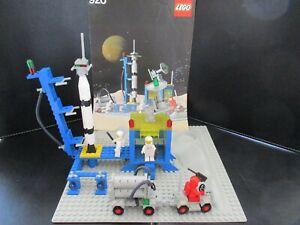 LEGO 920 ESPACE SPACE ALPHA-1 ROCKET BASE COMPLET AVEC  INSTRUCTIONS