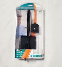 Logitech 980240-0403 Black Desktop Microphone (3.5mm)  ***NEW SEALED***