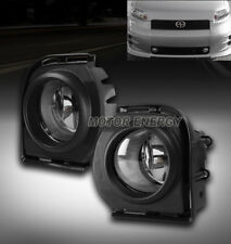 08 09 10 SCION XB BUMPER FOG LIGHTS CHROME W/HARNESS+SWITCH LEFT+RIGHT PAIR SET