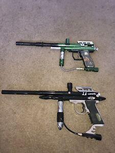 Paintball guns 32 Degrees REBEL 02 & Spyder Imagine Paintball Marker LOT-works!