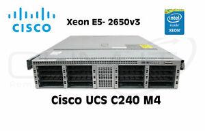 Cisco UCS C240 M4 CPU E5 2650v3 2,30HHz 2x 16GB RAM Server
