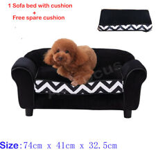 New Pet Bed Dog Cat Bed Sofa Couch Puppy Lounge Cushion with Extra Cushion