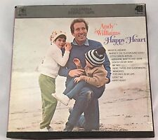 """Andy Williams Happy Heart Reel To Reel Stereo Tape 4 Track 7 1/2"""""""