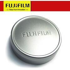 Original FUJI Fujifilm X10 X20 X30 Camera Metal Front Lens Cap Cover - SILVER