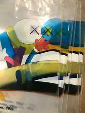 Rare! OriginalFake Kaws x Clot Edison Zip lock Plastic Bag x 5