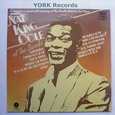 NAT KING COLE - At The Sands - Excellent Condition LP Record Capitol MFP 50243