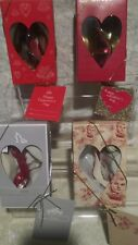 Just The Right Shoe Raine Valentine Day Heart Sole Hearts Aflutter Love Lot 4