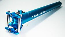KCNC Ti Pro Lite Road Mountain Bike Scandium Seatpost Post 31.6mm 400mm Blue