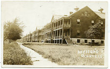 RPPC NY Madison Barracks U.S. Army Sackets Harbor Officers Brick Quarters