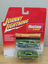 Johnny Lightning Mustang & Fords - 1967 Ford Fairlane GT 1:64 green