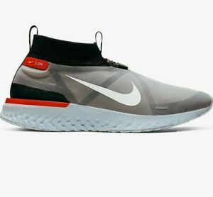 Nike Running Trainers React City Premium LDN London Black White Blue Tint Size 7
