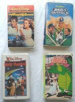 Mary Poppins Angels in the Outfield Moon-Spinners Pete's Dragon Disney VHS Lot
