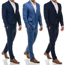 BOLF Herren Anzug Sakko Jacke Blazer Klassisch Slim Fit Classic Men 1J2 Casual