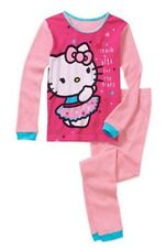 Hello Kitty  Girls Thermal Underwear 2 Piece Set Size 8 New
