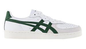 Onitsuka Tiger Gsm Baskets Blanc Vert Chasseur Chaussures de Tennis ASICS Cuir