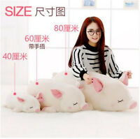 Cute Pig Stuffed Animal Pillow Plush Soft Doll Toy Cushion Kid Birthday Gift Hot