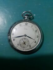 RARE  Cylinder pocket watch PAT+DRP Very good working &condition
