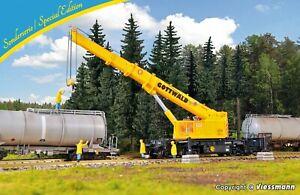 HO Scale Wagons - 12052 - H0 Telescopic crane GOTTWALD GS 100.06 T - KIT