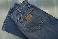 WRANGLER Dayton Herren Men Jeans Hose 38/32 W38 L32 blau stonewashed TOP #D12