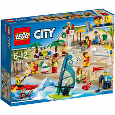 LEGO CITY TOWN 60153 PEOPLE PACK DIVERTIMENTO IN SPIAGGIA  NUOVO