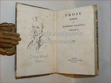 Daniele BARTOLI, Prose Scelte 1824 Venezia ASIA Missioni Viaggi Camere Parlanti