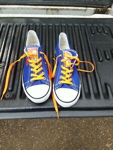 Vintage Denver Broncos Blue Shoes Size 9