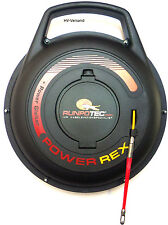 Kabeleinziehhilfe Runpotec Power Rex -Set,40m mit RTG6 Gewinde,Nr.:10089