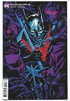 Batman Beyond #45 2020 Unread Francis Manapul Variant DC Comics Dan Jurgens