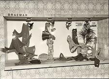 original braemar scottish  knitwear company photo 1970  - on display !