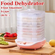 Commercial Food Dehydrators Fruit Vegetable Meat Drying Snacks Dryer Machine