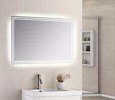 650 x 500mm LED illuminato Touch Specchio Del Bagno Setto Poroso IP44