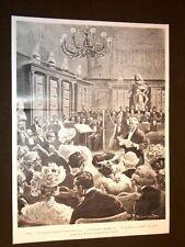 Roma Centenario dell'Accademia di Francia La Lettura di Chaumié 18 Aprile 1903