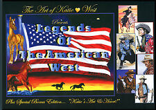 Legends of the American West- Art by Katie West Signed book