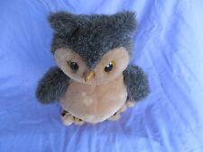 "R. Dakin plush owl 1986 10"""